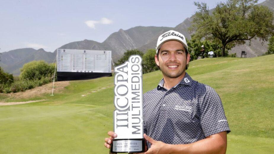 José Toledo se quedó con la etapa 3 de la Gira de Golf Profesional