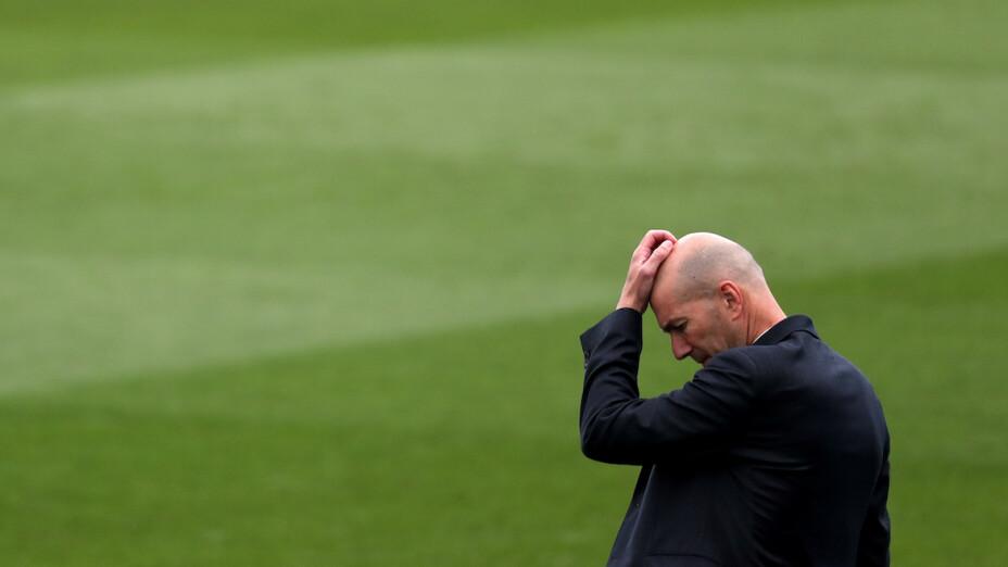 Zinedine Zidane deja de ser técnico del Real Madrid.