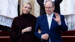 Principe Alberto II de Mónaco y su esposa, Charlene de Monaco