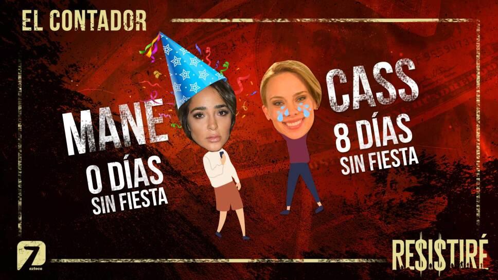 Contador Mane vs Cass fiesta Resistiré