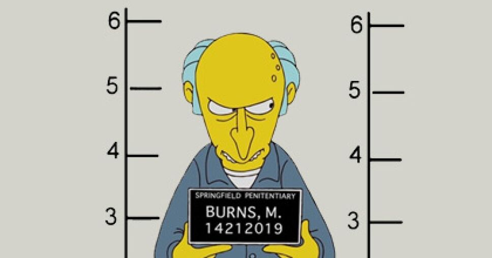 Señor Burns, Simpsons