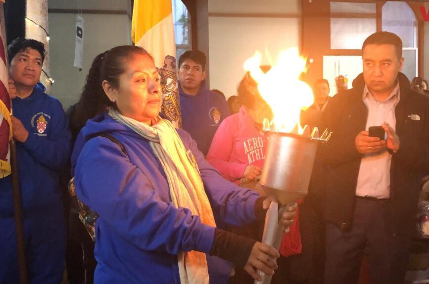Miles de devotos celebraron en Estados Unidos a la Virgen de Guadalupe