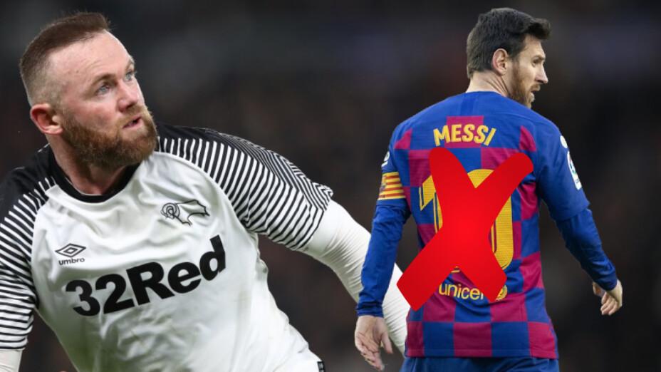 Para Wayne Rooney, habría un mejor fichaje en verano que el de Messi con el City
