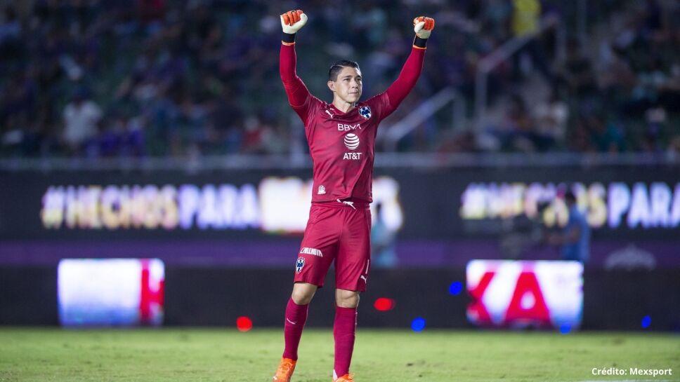 Hugo González, portero de Rayados de Monterrey