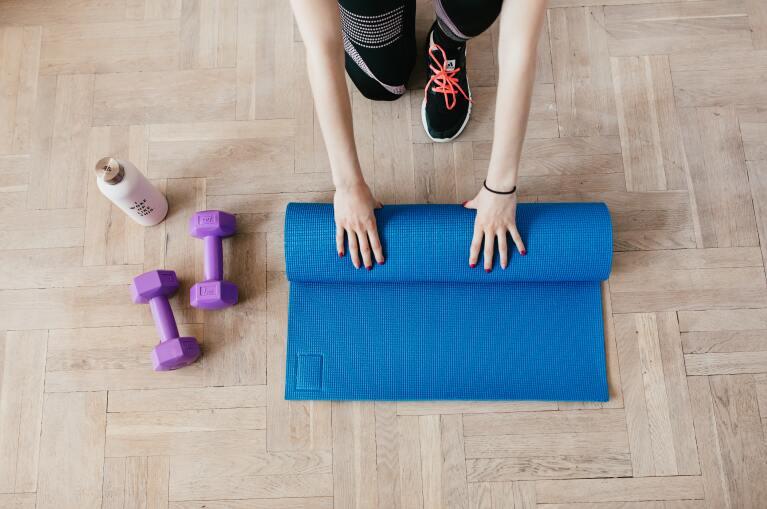 5 básicos para armar tu propio gym en casa