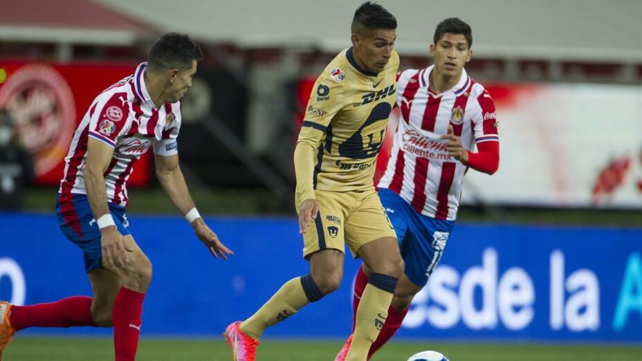 Liga BBVA MX Clausura GUARD1ANES 2021 Guadalajara 2-1 Pumas UNAM