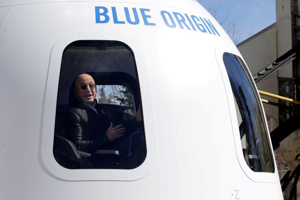 Jeff Bezos de Blue Origin