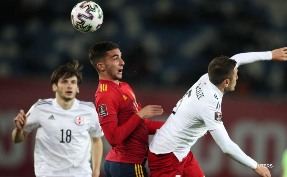Georgia vs España