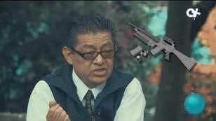 Armas de fuego en México.