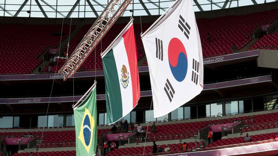 Bandera México Juegos Olímpicos