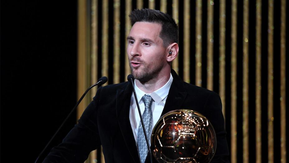 Balón de Oro: Lionel Messi