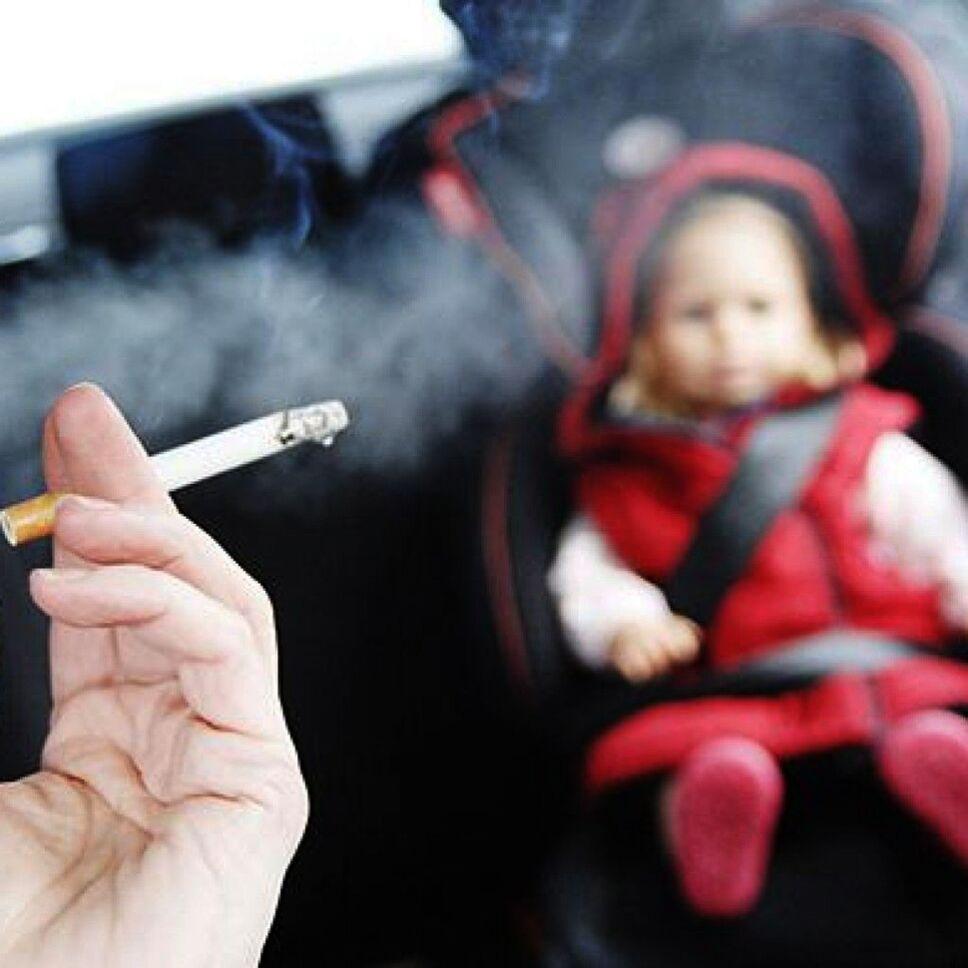 Niños Fumar