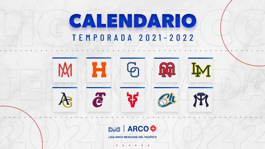 Liga Mexicana del Pacífico calendario oficial 2021-2022