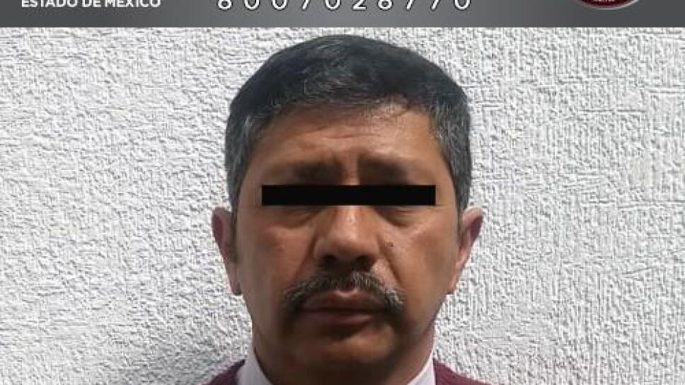 Detienen a profesor acusado de violación de cinco alumnos en Edomex
