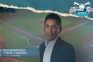 Jorge Campos en el beisbol de la LMB Diablos vs Guerreros