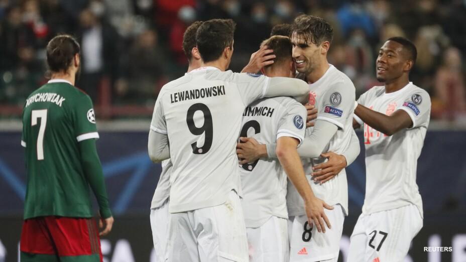Bayern Munich derrota al Lokomotiv