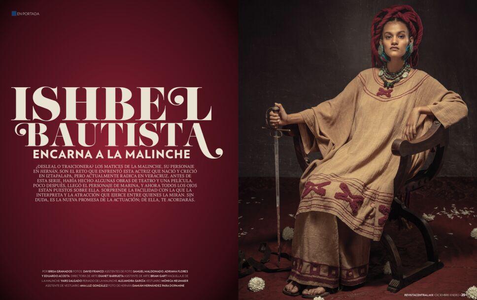 portada Ishbel Bautista