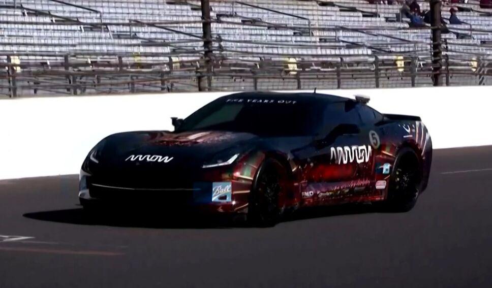 Expiloto cuadrapléjico de IndyCar conduce de nuevo.