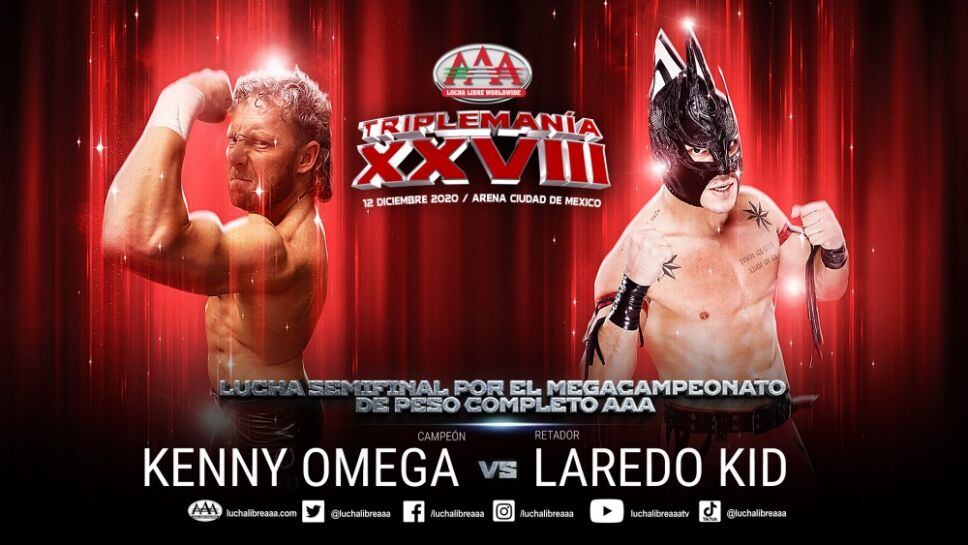 Laredo Kid luchador vs Kenny Omega