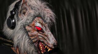 Werewolf scary mask
