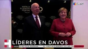 Líder en Davos, Suiza