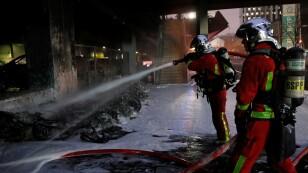 Fire at Gare de Lyon railway station in Paris