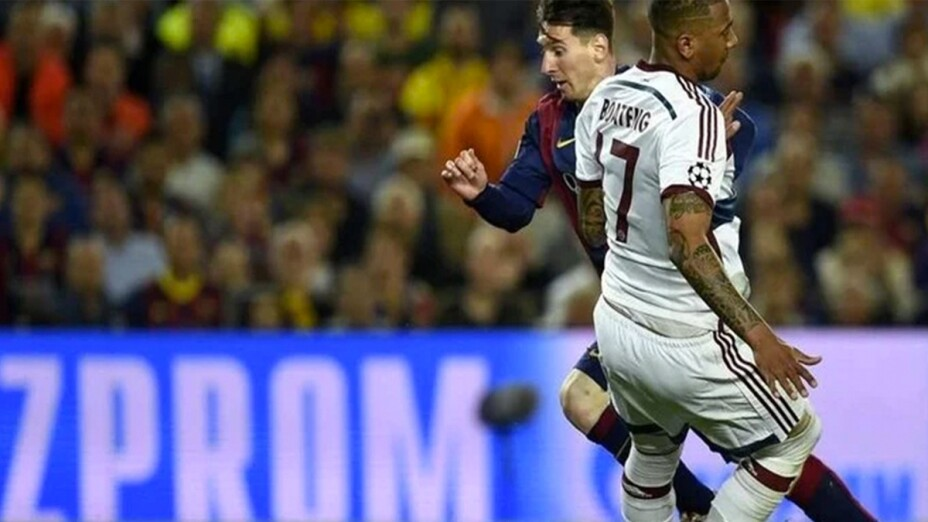 Messi y Boateng