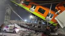 Metro accidente Olivos