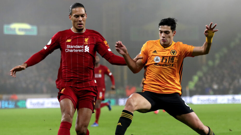 Van Dijik fue 'trolleado' por el Wolverhampton