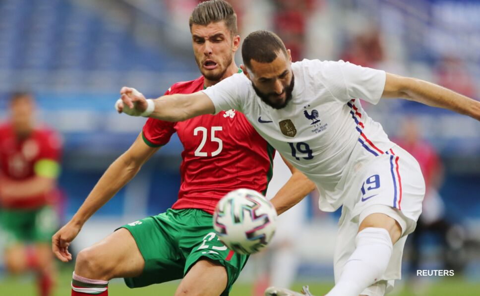 Karim Benzema ante Bulgaria