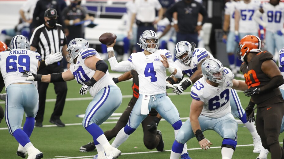 Cleveland Browns at Dallas Cowboys