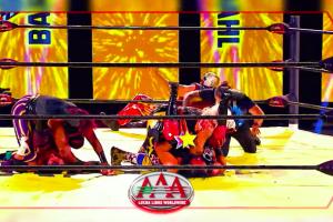 lucha azteca aaa los mejores momentos en el ring