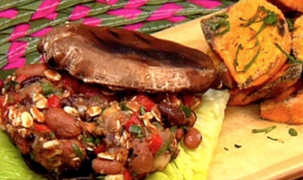 hamburguesa vegetariana