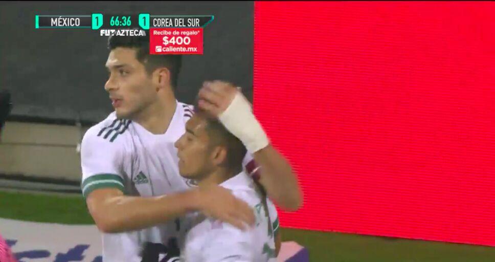 ¡Gol de Raúl Jiménez para empatar el marcador! |México 1-1 Corea del Sur