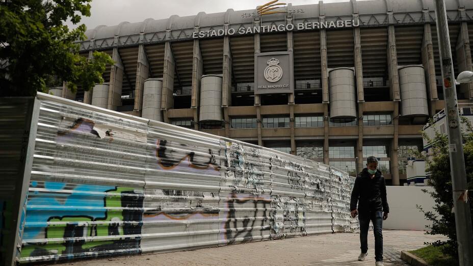 Estadio Santiago Bernabeu Covid