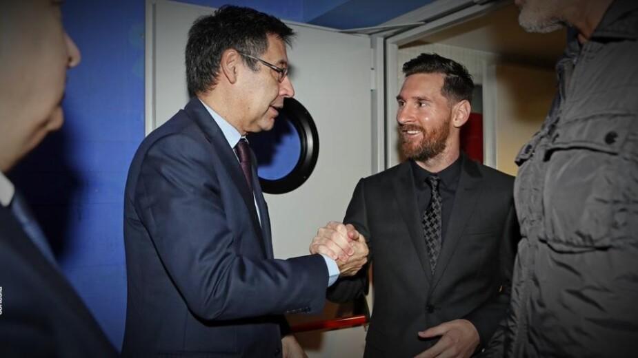 Lionel Messi Bartomeu