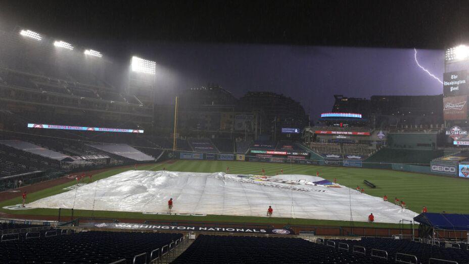 Se suspende el primer partido de las Grandes Ligas: Nationals vs. Yankees