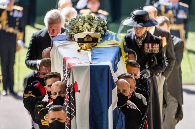 Funeral de Felipe de Edimburgo