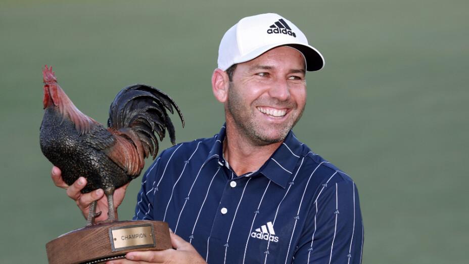 Undécima victoria para el español Sergio García en el PGA TOUR