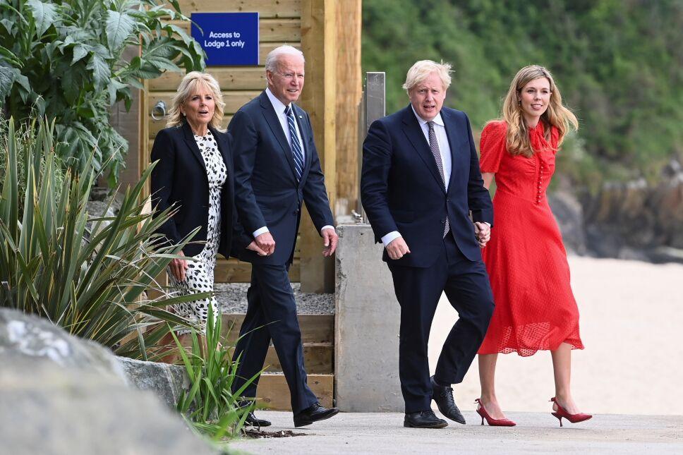 El primer ministro británico y el presidente Biden se reunen antes la cumbre G7.