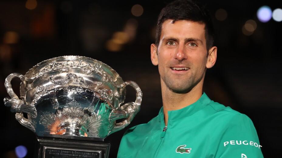 Djokovic es el Rey del Abierto de Australia