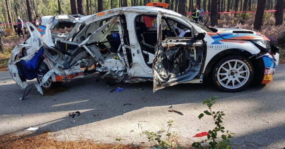 Accidente fatal en automovilismo