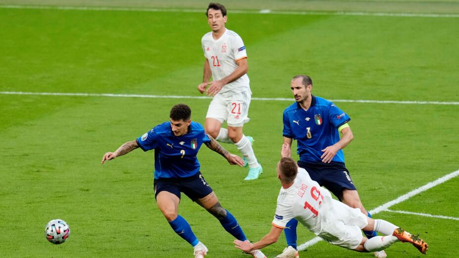 Italia vs España en vivo