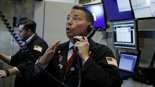 La actividad en la Bolsa de Valores de Nueva York el 6 de agosto del 2019.  Imagen, AP.