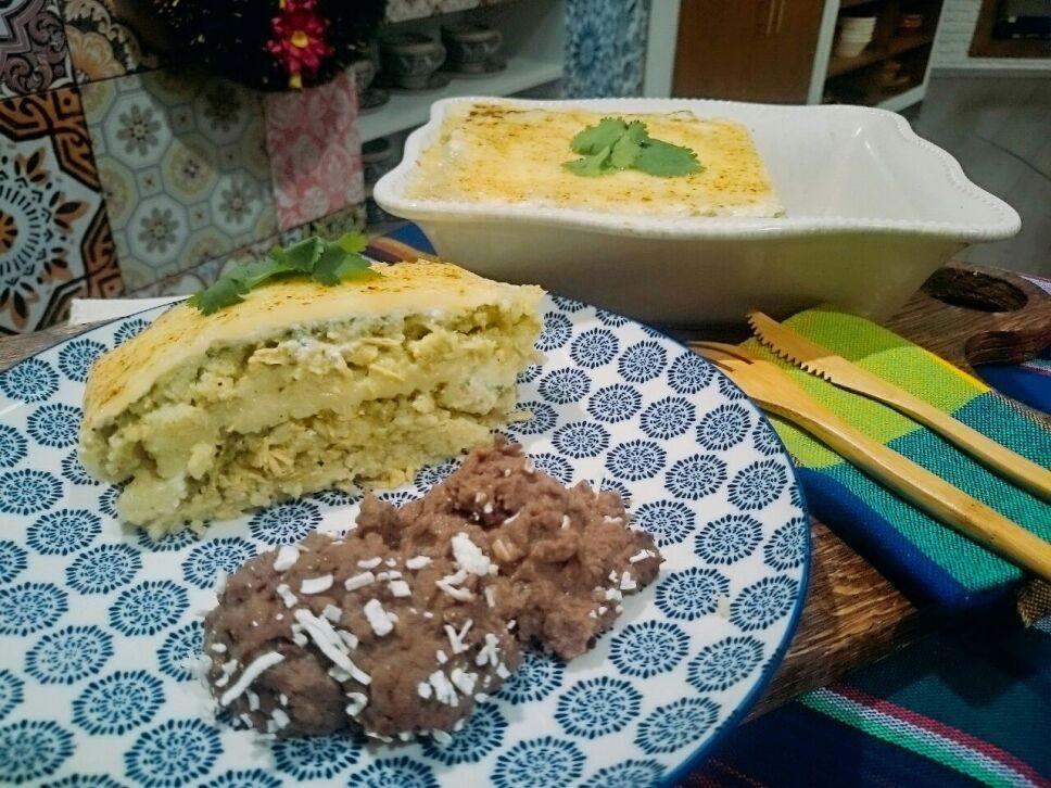 Cocineros Mexicanos, pastel azteca