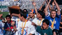 Cruz Azul levantó la octava en el Nou Camp.
