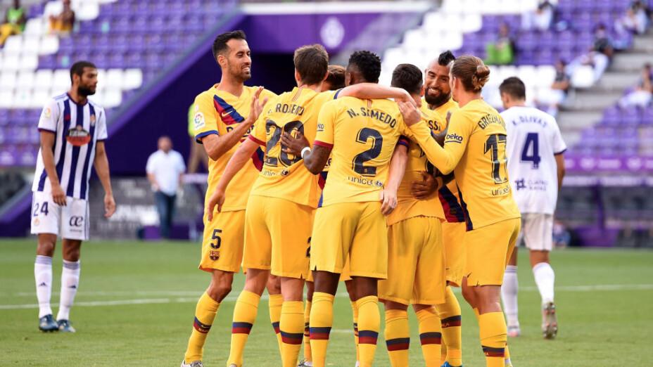 ¡El FC Barcelona le pone un susto al Real Madrid!