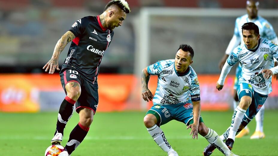Liga BBVA MX Clausura GUARD1ANES 2021 Leon vs Atletico San Luis