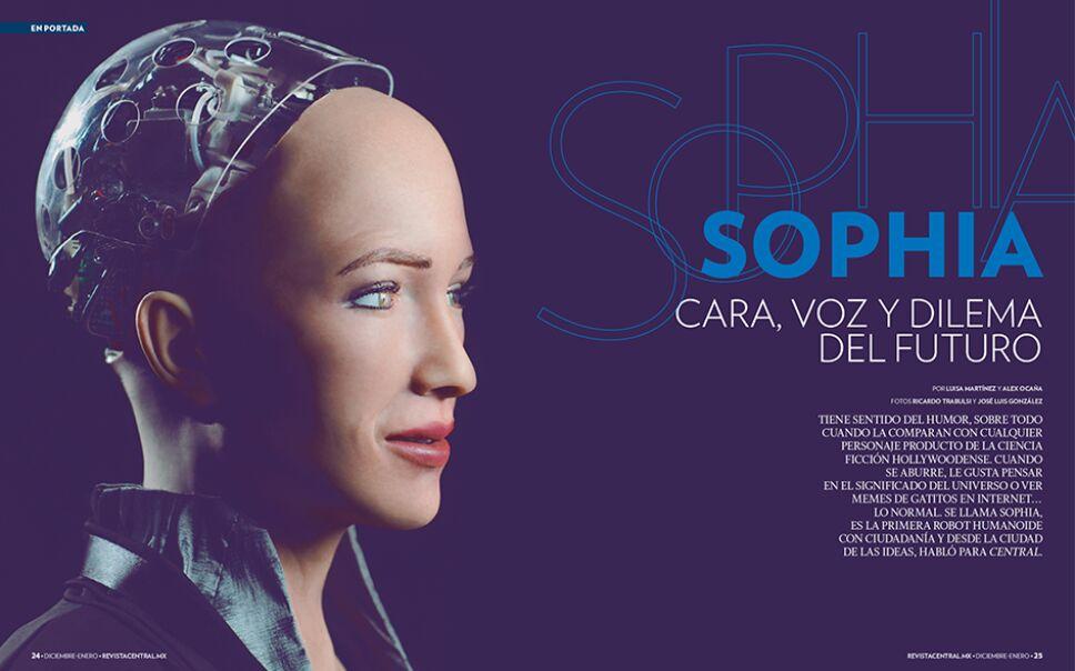 Sophia es nuestra portada de diciembre-enero/ Foto: Especial