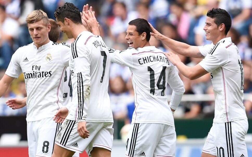 Chicharito en el Real Madrid